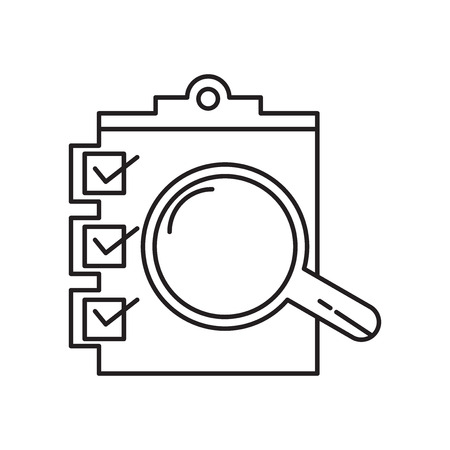 Evaluation icon vector isolated on white background for your web and mobile app design, Evaluation logo concept