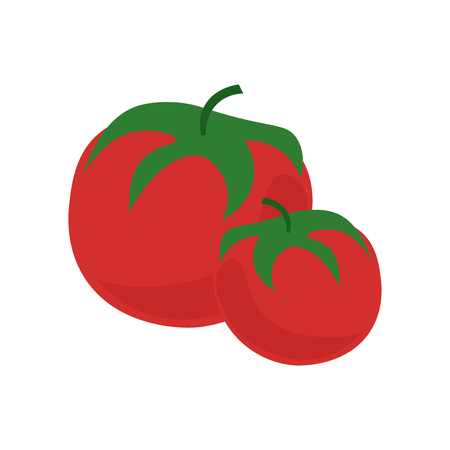 Tomato icon vector isolated on white background for your web and mobile app design, Tomato logo concept