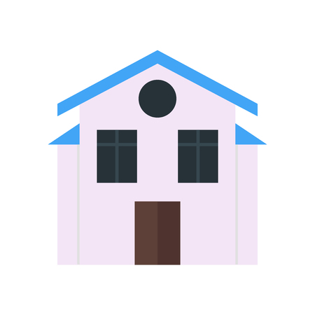 House icon vector isolated on white background for your web and mobile app design, House logo concept 向量圖像