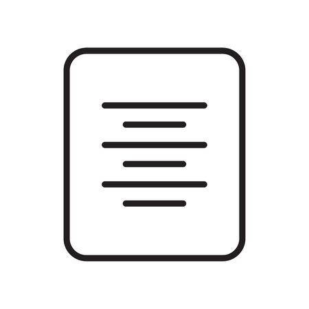 Icona di allineamento del centro vettoriale isolato su sfondo bianco per il vostro web e progettazione di app per dispositivi mobili, concetto di logo di allineamento al centro