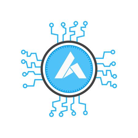 Ardor icon vector isolated on white background for your web and mobile app design, Ardor logo concept Foto de archivo - 106920875
