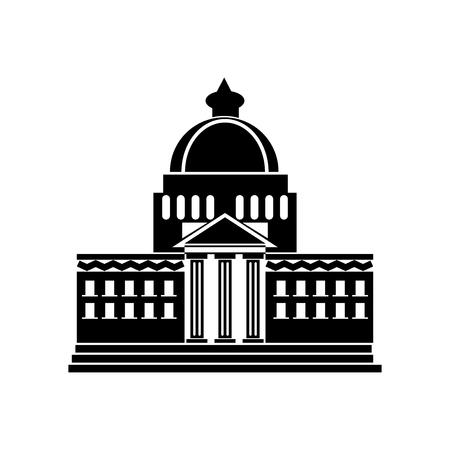 Vecteur d'icône maison blanche isolé sur fond blanc pour la conception de votre application web et mobile, concept logo maison blanche