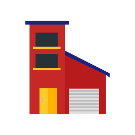 House icon vector isolated on white background for your web and mobile app design, House logo concept Illusztráció