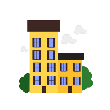 Appartment icon vector isolated on white background for your web and mobile app design, Appartment logo concept Illustration