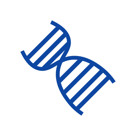 Dna icon vector isolated on white background for your web and mobile app design, Dna logo concept