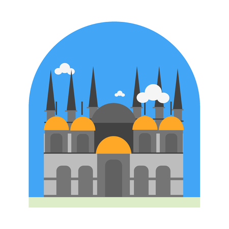 St mark basilica icon vector isolated on white background for your web and mobile app design, St mark basilica logo concept