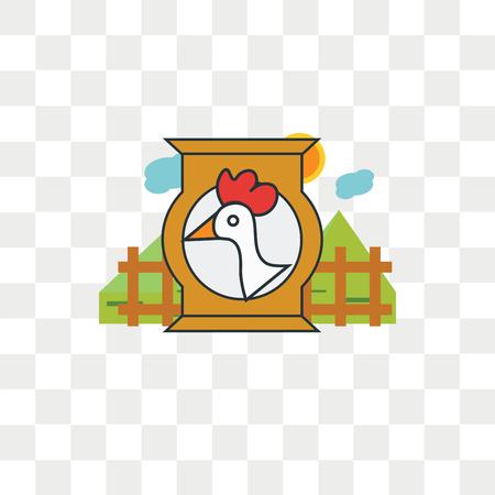Fodder vector icon isolated on transparent background, Fodder logo concept