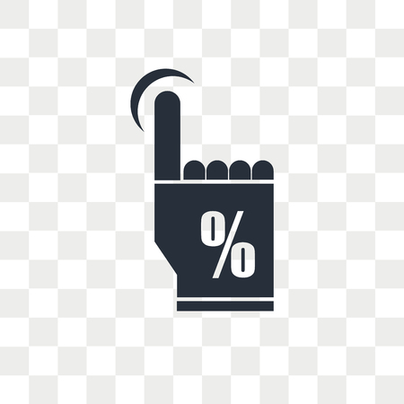 Click through rate vector icon isolated on transparent background, Click through rate logo concept