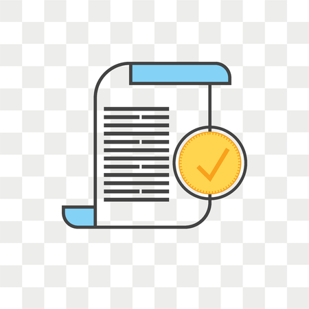 Ledger vector icon isolated on transparent background, Ledger logo concept