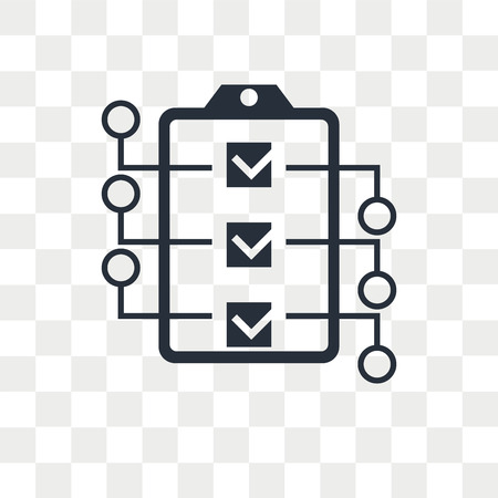Icono de vector de prioridad aislado sobre fondo transparente, concepto de logo de prioridad Logos