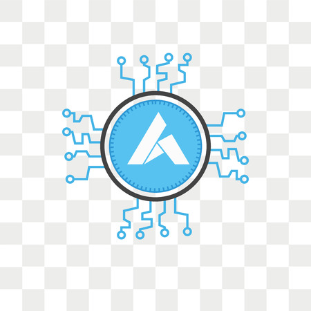 Ardor vector icon isolated on transparent background, Ardor logo concept