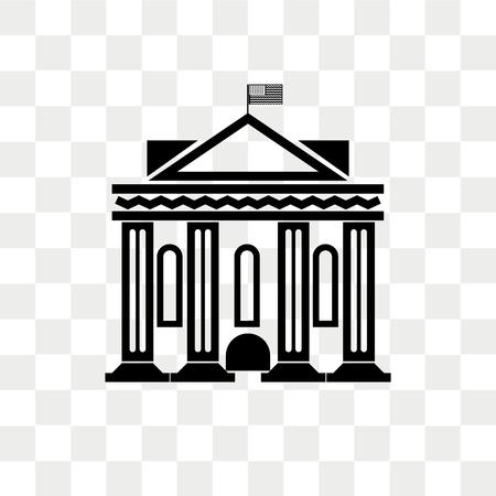 Washington vector icon isolated on transparent background, Washington logo concept