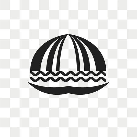 Seashell vector icon isolated on transparent background, Seashell logo concept 일러스트