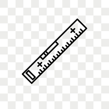 Level-Vektor-Symbol isoliert auf transparentem Hintergrund, Level-Logo-Konzept
