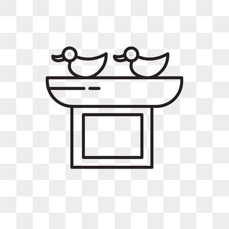 Icona di gioco vettoriale isolato su sfondo trasparente, concetto di logo di gioco