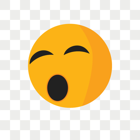 Ti smile vector icon isolated on transparent background, Ti smile logo concept