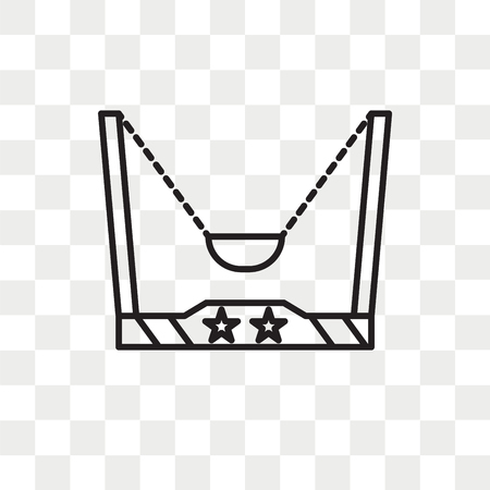 Catapult vector icon isolated on transparent background, Catapult logo concept