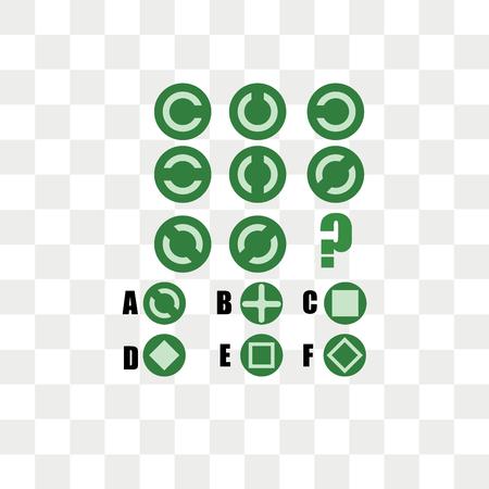 IQテスト。正解を選択します。論理的なタスク、子供のための教育ゲーム。論理の開発、 iq.タスクゲーム次に来るもの、透明な背景、IQテストで分離されたベクトルアイコン。正解を選択します。論理的なタスク、子供のための教育ゲーム。論理の開発、 iq.タスクゲーム次に来るもの、ロゴコンセプト