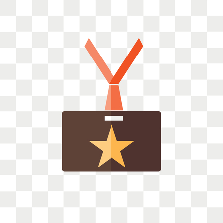 Vip pass vector icon isolated on transparent background, Vip pass logo concept Logo