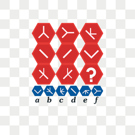 IQ test. Choose correct answer. Logical task, educational game for kids. development of logic, iq. Task game what comes next, vector icon isolated on transparent background, IQ test. Choose correct answer. Logical task, educational game for kids. development of logic, iq. Task game what comes next, logo concept