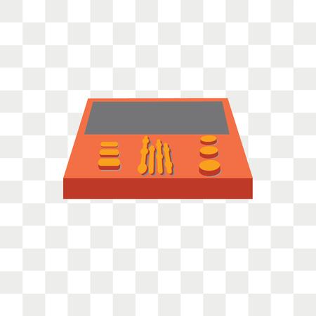 Workstation vector icon isolated on transparent background, Workstation logo concept Ilustração