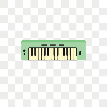 Keyboard vector icon isolated on transparent background, Keyboard logo concept Ilustrace