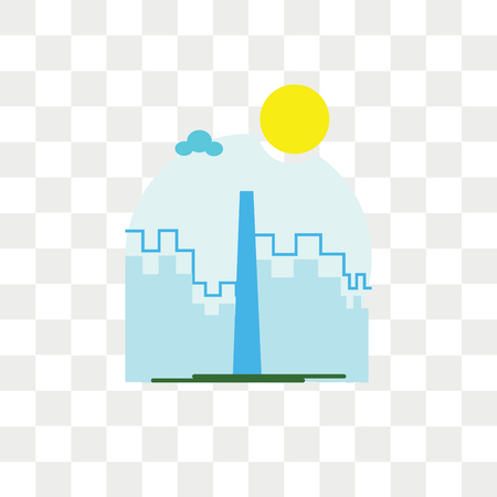 The shard vector icon isolated on transparent background, The shard logo concept