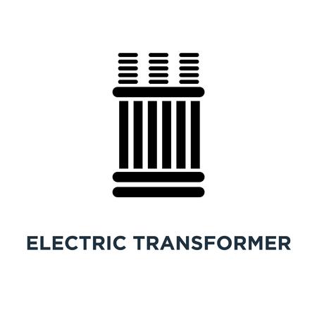 electric transformer icon. electric transformer concept symbol design, vector illustration Stock Vector - 108987322