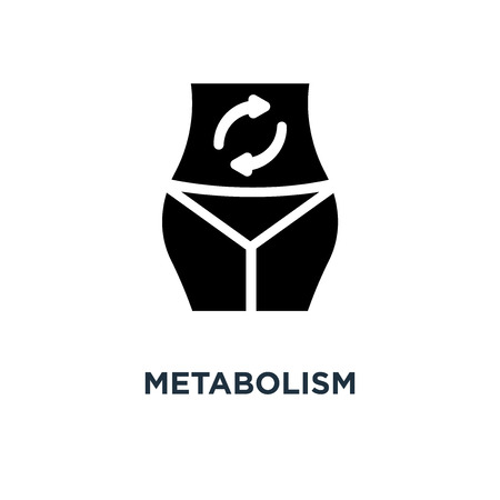 metabolism icon. metabolism concept symbol design, vector illustration