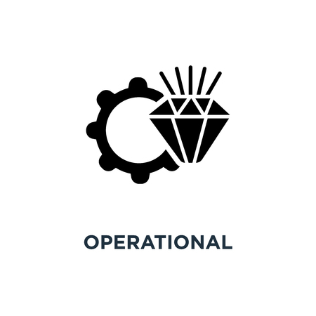 operational excellence icon. operational excellence concept symbol design, vector illustration