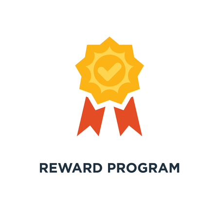 reward program icon. winner cup, earn points, medal concept symbol design, first place bowl, game trophy, win super prize, achievement and accomplishment vector illustration