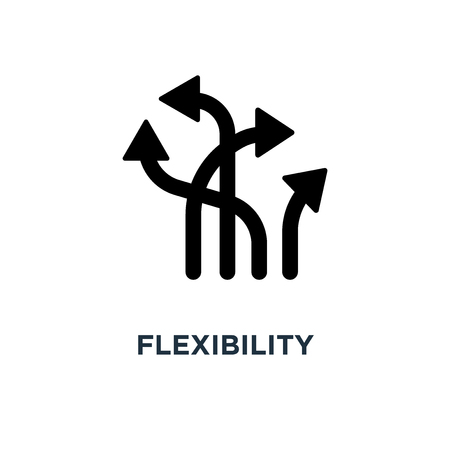 flexibility icon. flexibility concept symbol design, vector illustration