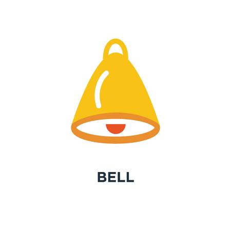 bell icon. alarm concept symbol design, alert vector illustration