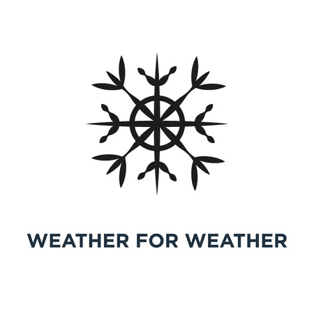 weather for weather forecast icon. temperature . climate concept symbol design, vector illustration Stock Illustratie