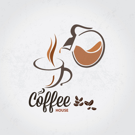 coffee cup vector: Vector icon of coffee cup