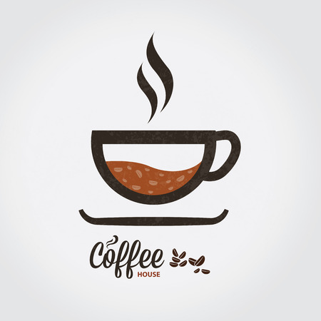 instant coffee: icon of coffee cup