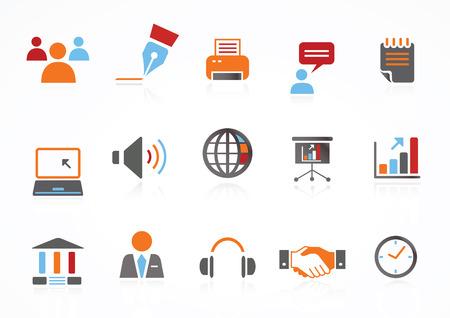 feed back: Web Navigation Icons Illustration