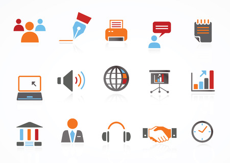 Web Navigation Icons Ilustrace