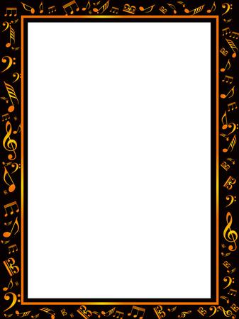 8 946 music border stock vector illustration and royalty free music rh 123rf com music note border clipart music border clip art images
