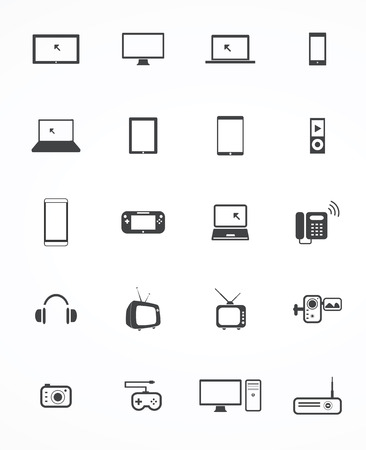 social gathering: techknology icon Vector Illustration