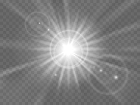 rays light: Abstract light rays or beam of light illustration