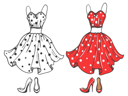 Dress Sketch Stock Photos. Royalty Free Dress Sketch Images