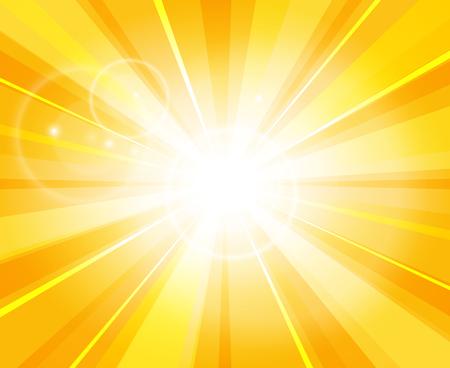 Sun beams pattern. Illustration