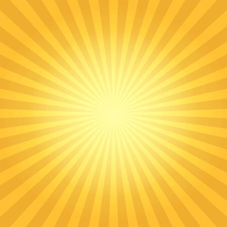Vintage sun flare. Sun rays light background, vector radiation boom illustration, retro explosion abstract design Vektorové ilustrace