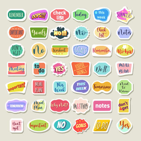 Woman planner stickers
