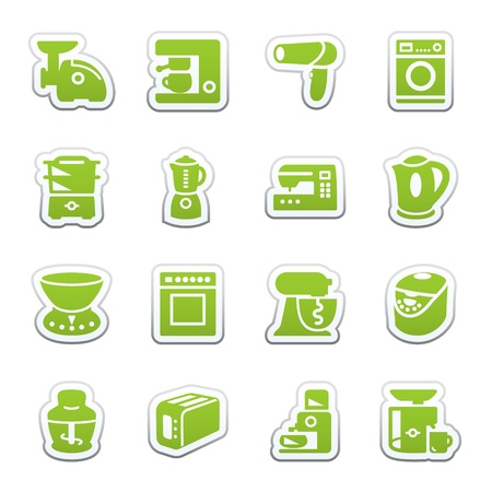 Home appliances. Vector