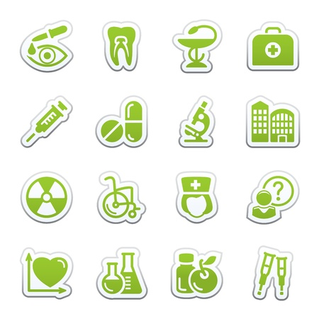 squirt: Medicine web icons, set 2