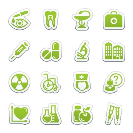 Medicine web icons, set 2 Stock Vector - 9340704