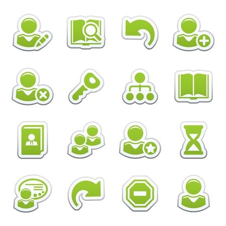 agregar: Iconos de web de los usuarios
