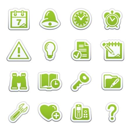 configure: Organizer web icons